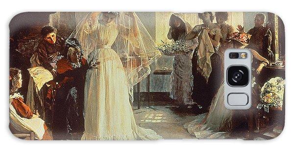 Dress Galaxy Case - The Wedding Morning by John Henry Frederick Bacon