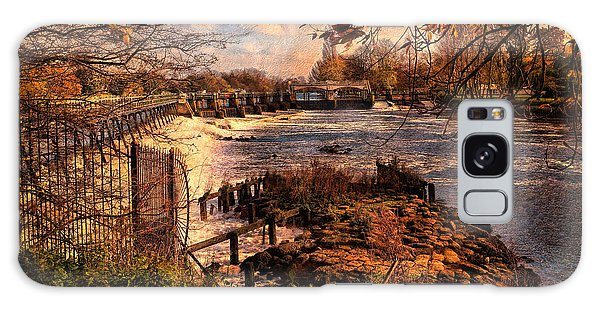 The Weir At Teddington Galaxy Case
