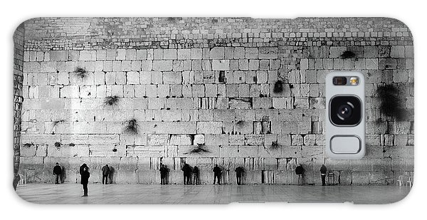 The Western Wall, Jerusalem 2 Galaxy Case