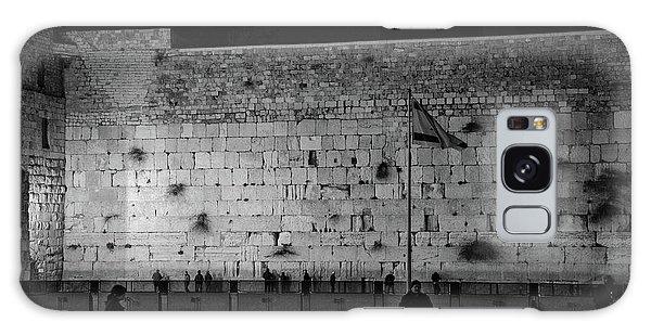 The Western Wall, Jerusalem Galaxy Case
