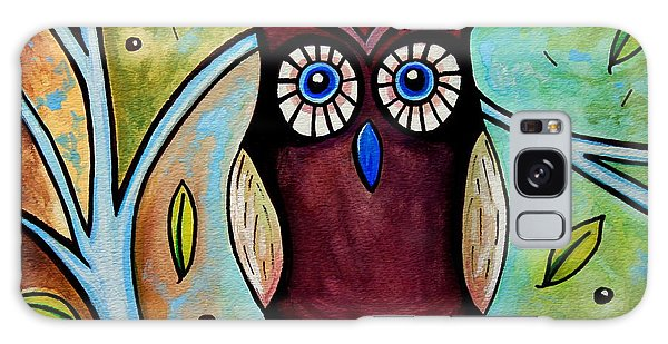 The Whimsical Owl Galaxy Case