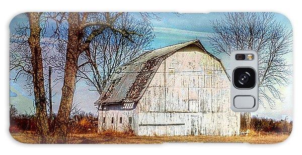 The White Barn Galaxy Case by Karen McKenzie McAdoo