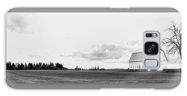 The White Barn Galaxy Case by Rebecca Cozart