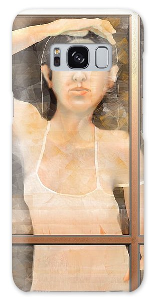 The White Dress Galaxy Case