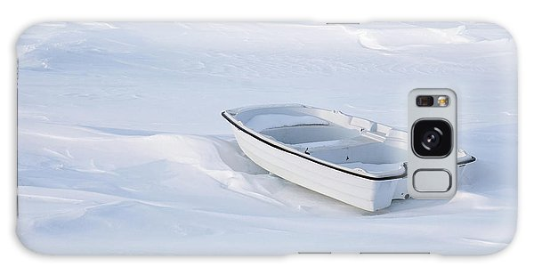 The White Fishing Boat Galaxy Case