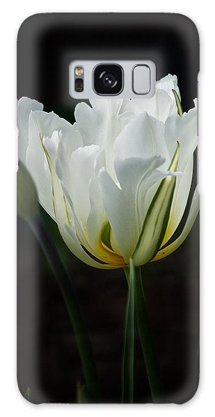 The White Tulip Galaxy Case by Richard Cummings