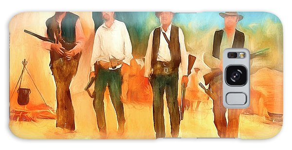The Wild Bunch Galaxy Case by Michael Cleere