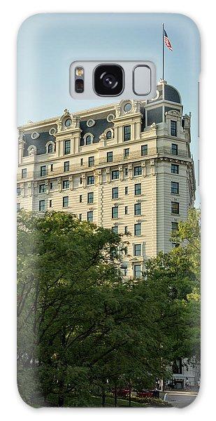 The Willard Hotel Galaxy Case by Chrystal Mimbs