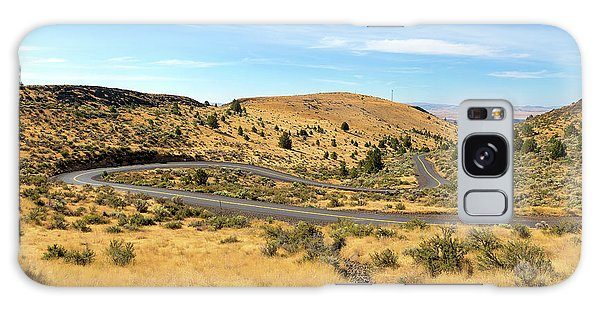 The Winding Road In Central Oregon Galaxy Case