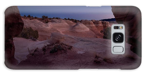 Galaxy Case featuring the photograph The Window In Desert by Edgars Erglis