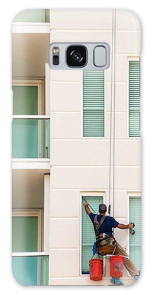 The Window Washer Galaxy Case