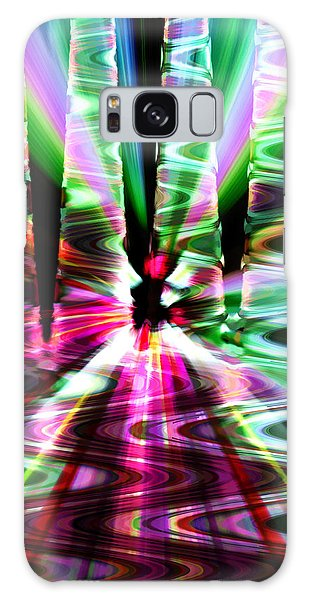 The Windy Road Galaxy Case by Cherie Duran