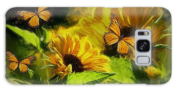 The Wings Of Transformation Galaxy Case by Tina  LeCour