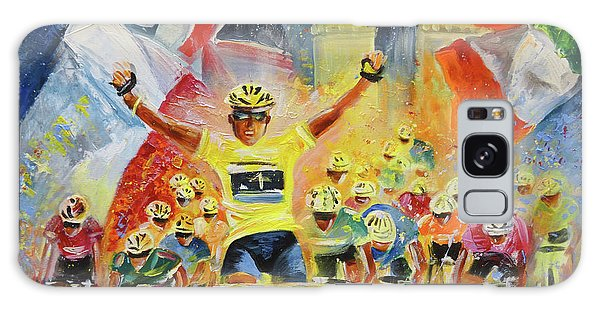 The Winner Of The Tour De France Galaxy Case