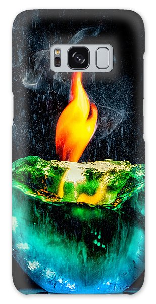 The Winter Of Fire And Ice Galaxy Case