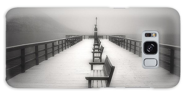 The Winter Pier Galaxy Case