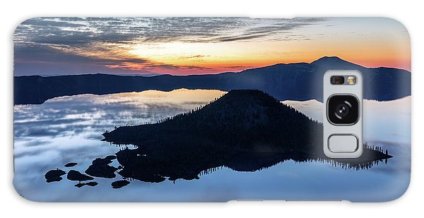Galaxy Case featuring the photograph The Wizard At Dawn by Pierre Leclerc Photography