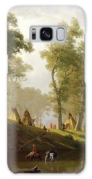 Outdoors Galaxy Case - The Wolf River - Kansas by Albert Bierstadt