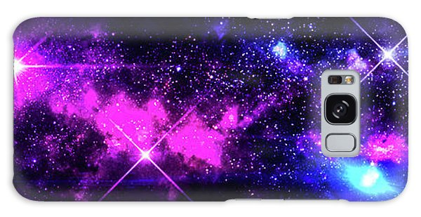 The Wonders Of Space  Galaxy Case by Naomi Burgess