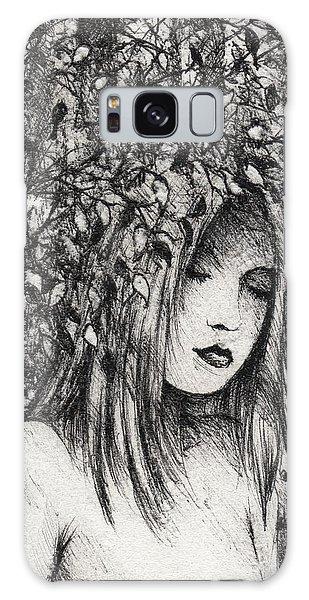 Galaxy Case - The Wood Nymph by Rachel Christine Nowicki