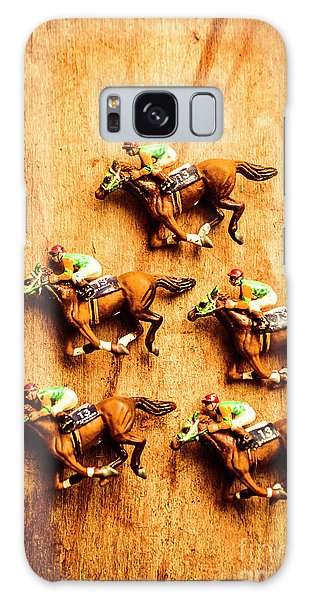 Gamble Galaxy Case - The Wooden Horse Race by Jorgo Photography - Wall Art Gallery