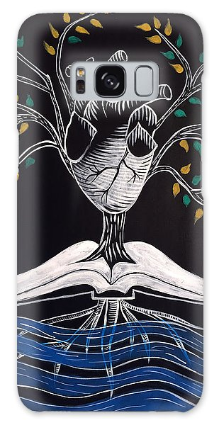 The Word Is Life Galaxy Case