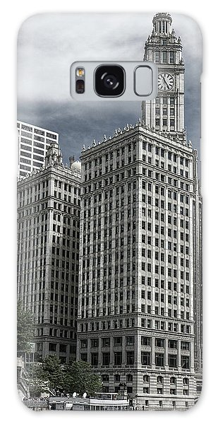 The Wrigley Building Galaxy Case by Alan Toepfer