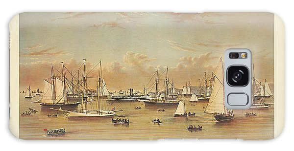 The Yacht Squadron At Newport Galaxy Case