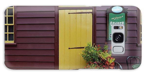 The Yellow Door In Annapolis Galaxy Case