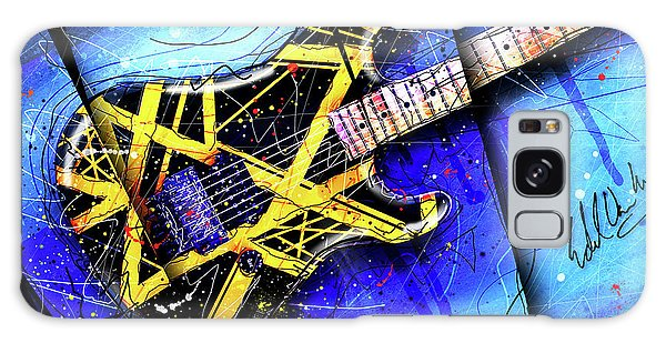 The Yellow Jacket_cropped Galaxy Case