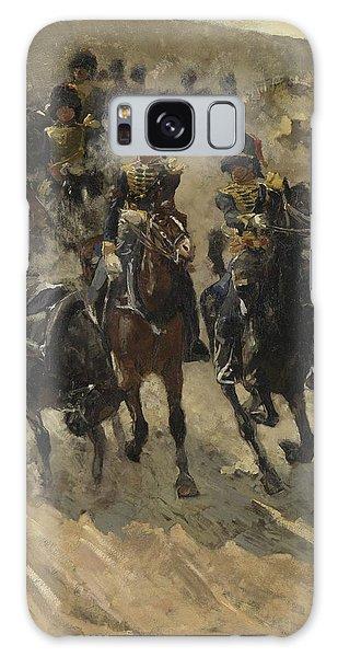 The Yellow Riders, George Hendrik Breitner, 1885 - 1886 Galaxy Case