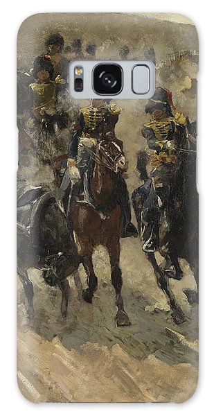 The Yellow Riders, George Hendrik Breitner, 1885 - 1886 Galaxy Case
