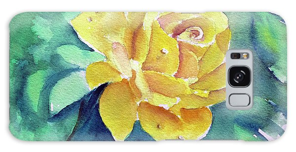 The Yellow Rose Galaxy Case