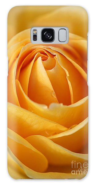 The Yellow Rose Galaxy Case by Joy Watson