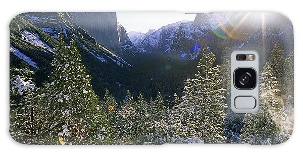 The Yosemite Valley In Winter Galaxy Case