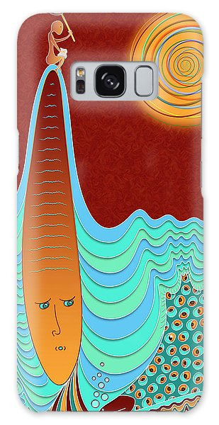 The Young Man And The Sea Galaxy Case