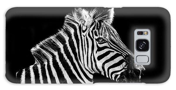The Zebra Stripes Galaxy Case