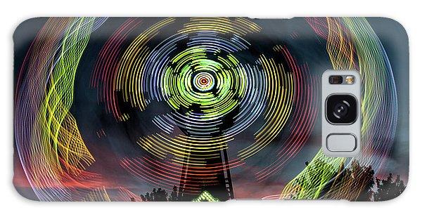The Zipper Motion Art By Kaylyn Franks Galaxy Case