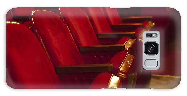Theater Seating Galaxy Case by Carolyn Marshall