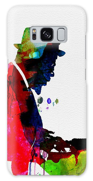Buddhism Galaxy Case - Thelonious Watercolor by Naxart Studio
