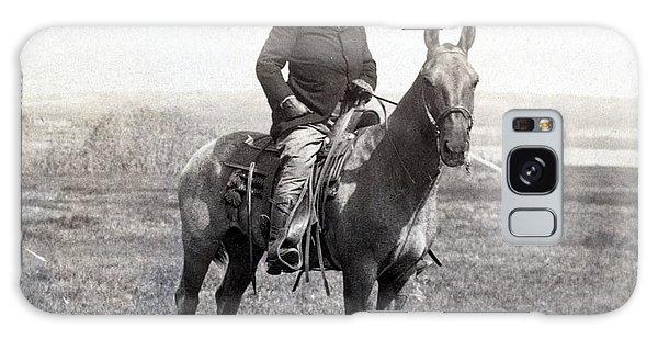 Theodore Roosevelt Horseback - C 1903 Galaxy Case