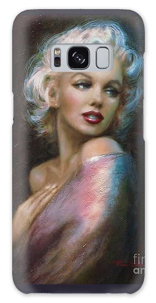 Theo's Marilyn Ww Blue Galaxy Case