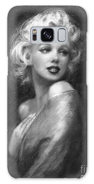 Theo's Marilyn Ww Bw Galaxy Case