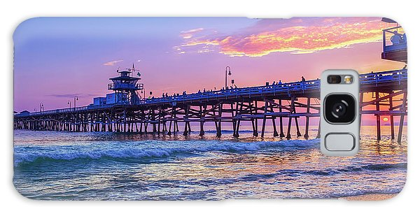 There Will Be Another One - San Clemente Pier Sunset Galaxy Case