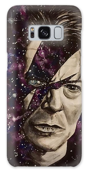 There's A Starman Waiting In The Sky Galaxy Case