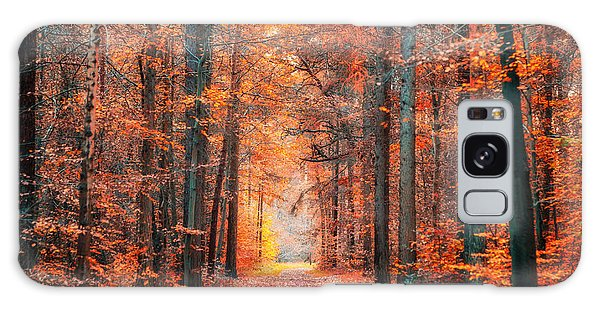 Galaxy Case featuring the photograph Thetford Forest by James Billings