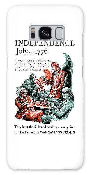 Thomas Jefferson Galaxy Case - They Kept The Faith - Ww2 by War Is Hell Store