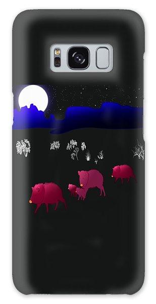 They Walk By Night Galaxy Case