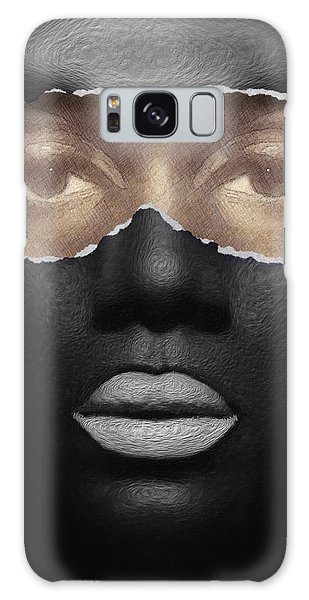 Galaxy Case featuring the digital art Thin Skinned by ISAW Company