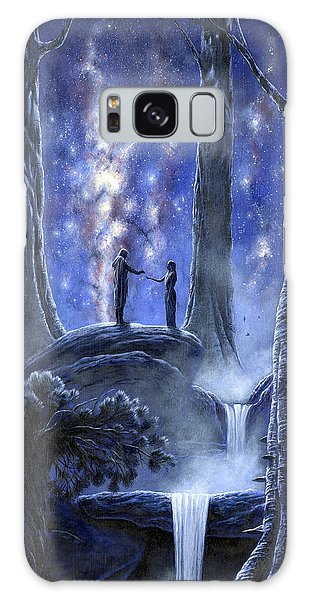 Galaxy Case featuring the painting Thingol And Melian by Kip Rasmussen